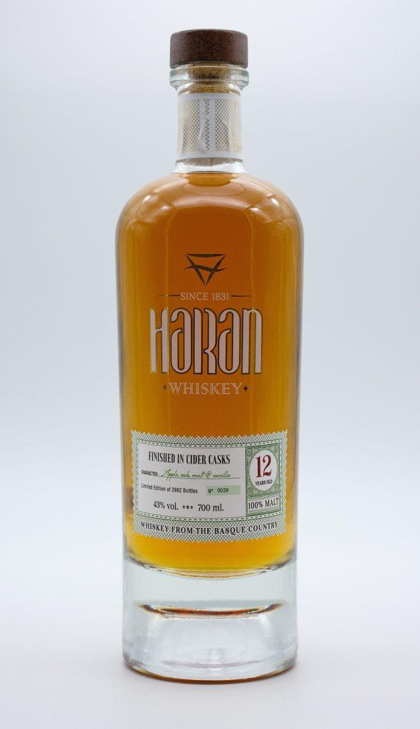 Whiskey 12 FINISHED IN CIDER CASKS